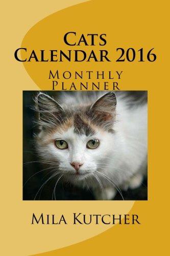 9781514748411: Cats Calendar 2016