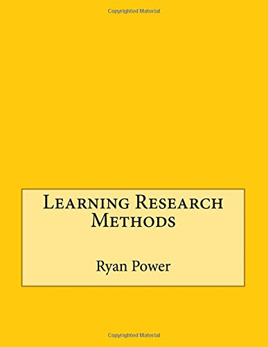 9781514756225: Learning Research Methods