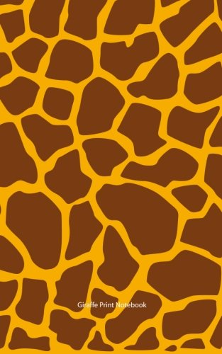 9781514757161: Giraffe Print Notebook: College Ruled Writer's Notebook for School, the Office, or Home! (5 x 8 inches, 78 pages)