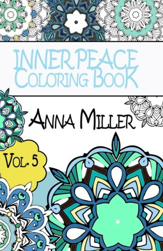 Inner Peace Coloring Book Pocket Size - Anti Stress Art Therapy Coloring Book: Beach Size Healing ...