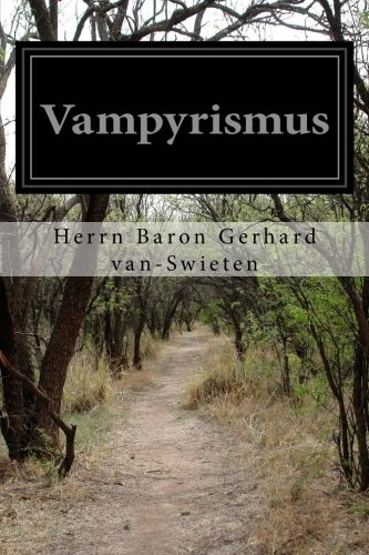 9781514776735: Vampyrismus (German Edition)