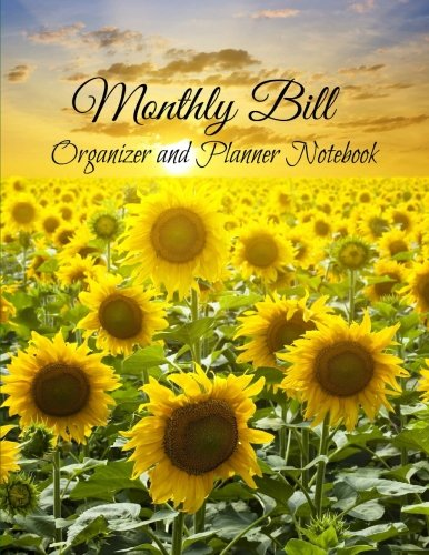 9781514779613: Monthly Bill Organizer and Planner Notebook (Large Budget Planners with Inspirational Covers) (Volume 17)