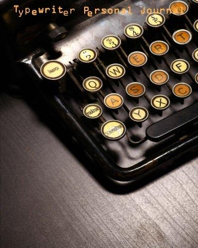 9781514780503: Typewriter Personal Journal