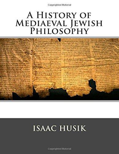 9781514788714: A History of Mediaeval Jewish Philosophy