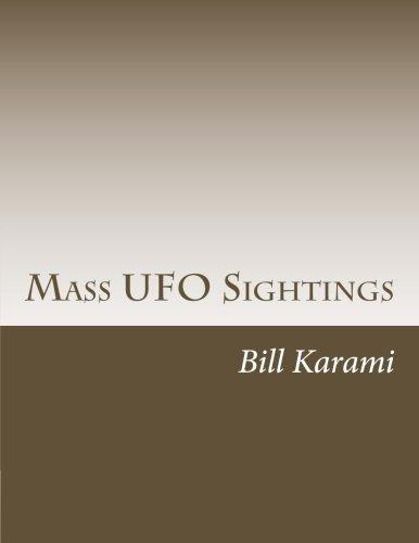9781514789971: Mass UFO Sightings