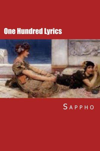One Hundred Lyrics (Paperback): Sappho