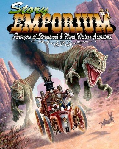 Story Emporium: Purveyors of Steampunk Weird Western: David B Riley