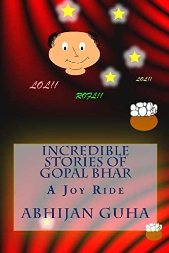 Incredible Stories of Gopal Bhar: A Joy: MR Abhijan Guha