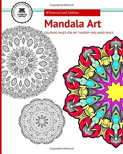 9781514834831: Mandala Art Coloring Book: For Art Therapy and Inner Peace
