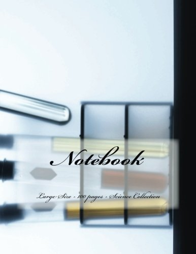9781514838440: Notebook - Large Size - 100 pages - Science Collection: Original Design 3