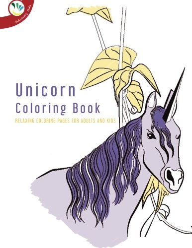 9781514838914: Unicorn Coloring Book. Relaxing Coloring Pages for Adults and Kids