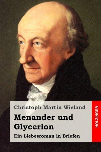 9781514857748: Menander und Glycerion: Ein Liebesroman in Briefen (German Edition)