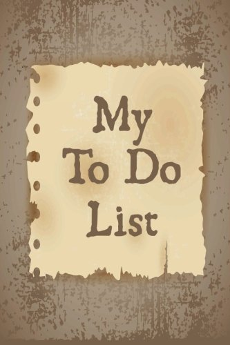 9781514877241: My To Do List Journal: Retro To Do List Journal, 6 x 9, 100 Days, To Do List Planner