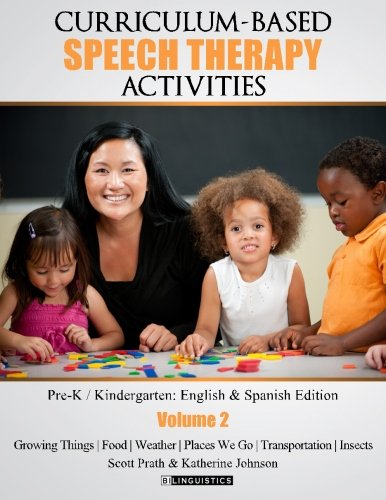 9781514895139: Curriculum-based Speech Therapy Activities: Volume II: Pre-K / Kindergarten English and Spanish Edition (Volume 2)