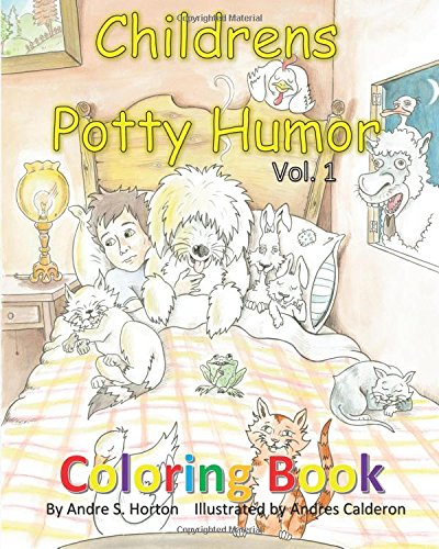 9781514898260: childrens potty humor vol.1 coloring book (Volume 1)