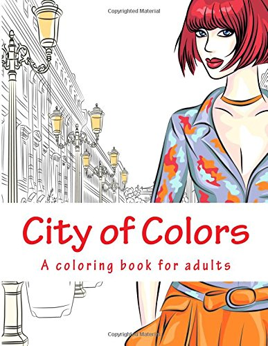 9781515000310: City of Colors: A coloring book for adults