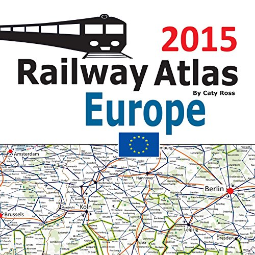 9781515002307: Railway Atlas Europe 2015