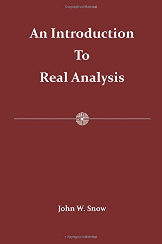9781515011934: An Introduction to Real Analysis