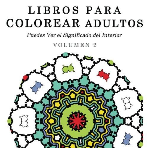 9781515018056: Libros para Colorear Adultos: Mandalas de Arte ...