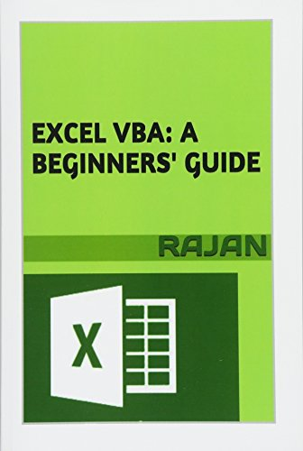 9781515047018: Excel VBA: A Beginners' Guide