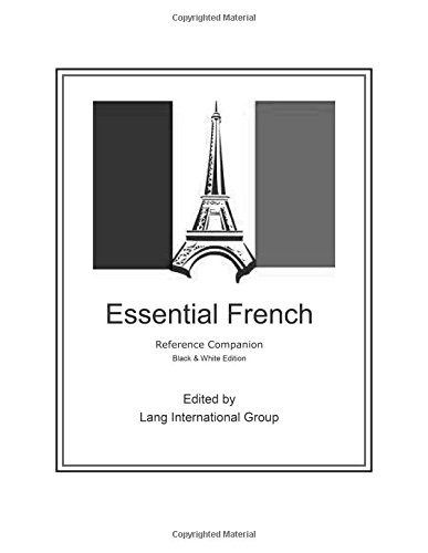 9781515048831: Essential French - Reference Companion: Black & White Edition (Essential Series) (French Edition)
