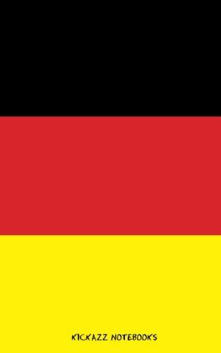 9781515051084: Flag of Germany: Notebook