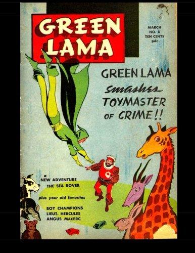 9781515069645: Green Lama #8: 1946 Superhero Comic