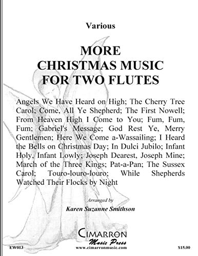 9781515111313: More Christmas Music for Two Flutes