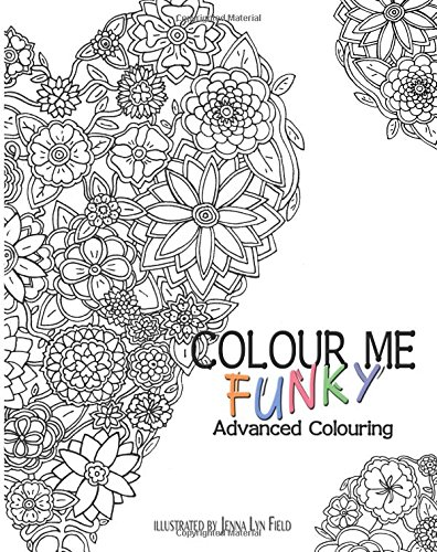 9781515135241: Colour Me Funky - Advanced Colouring