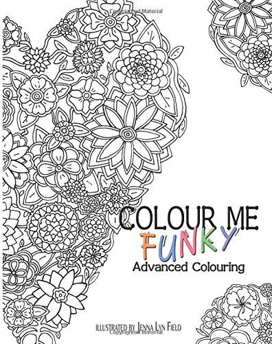 9781515135241: Colour Me Funky - Advanced Colouring