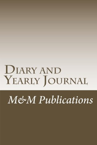 9781515136149: Diary and Yearly Journal - 365 pages