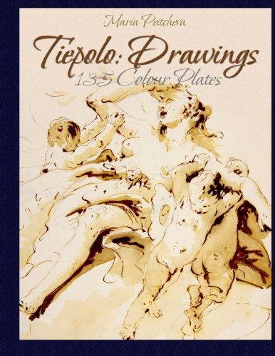 9781515143628: Tiepolo: Drawings 135 Colour Plates
