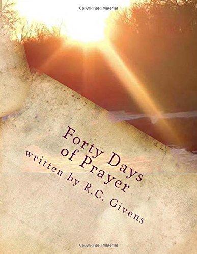 9781515145325: Forty Day Prayer: Journal Journey