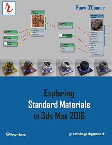 9781515165477: Exploring Standard Materials in 3ds Max 2016