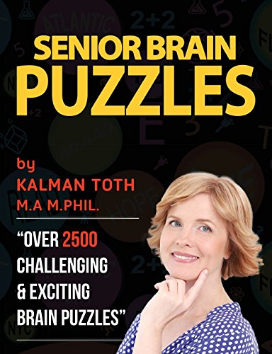 9781515167648: Senior Brain Puzzles: Keep Your Brain Young