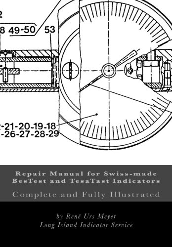 9781515179788: Repair Manual for Swiss-made BesTest and TesaTast Indicators: Complete and fully illustrated