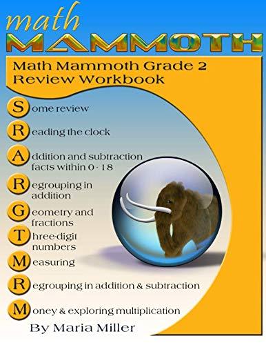 9781515185727: Math Mammoth Grade 2 Review Workbook
