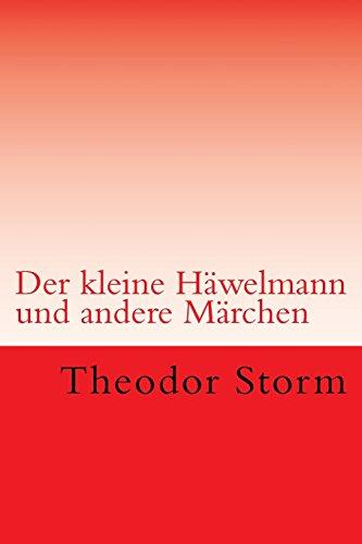 9781515189268: Der kleine Häwelmann: und andere Märchen (German Edition)