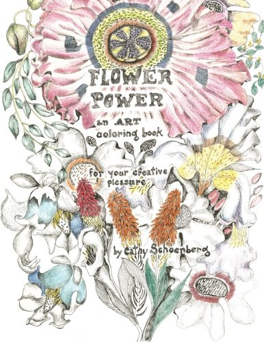 9781515195962: Flower Power: An Art Coloring Book