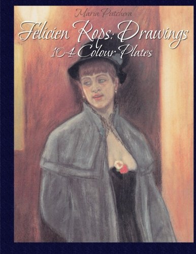 9781515198215: Felicien Rops: Drawings 104 Colour Plates
