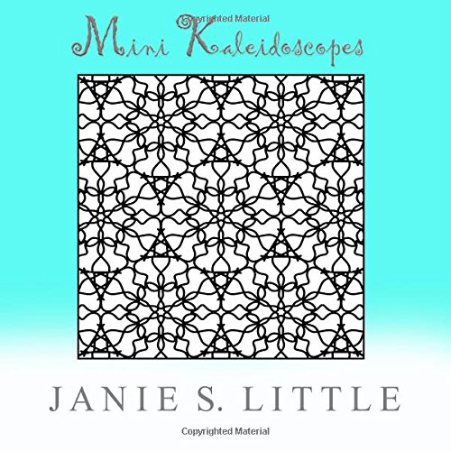 9781515202936: Mini Kaleidoscopes: A Coloring Book for Adults
