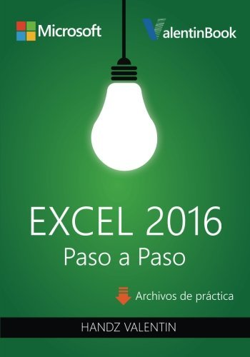 9781515207221: Excel 2016 Paso a Paso (Spanish Edition)