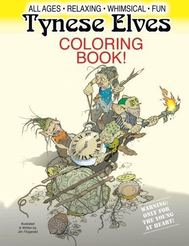 Tynese Elves coloring book: Jim Fitzgerald