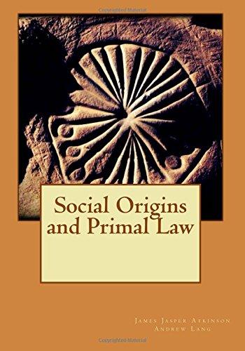 9781515212133: Social Origins and Primal Law