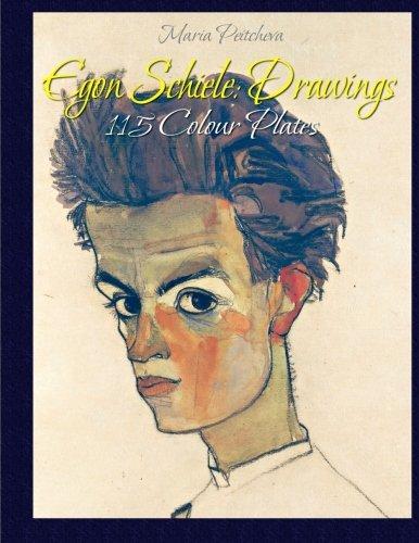 9781515212294: Egon Schiele: Drawings 115 Colour Plates