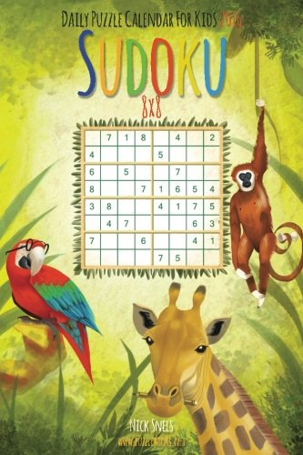 9781515240358: Daily Sudoku For Kids 8x8 Puzzle Calendar 2016 (Daily Sudoku For Kids Puzzle Calendar 2016)