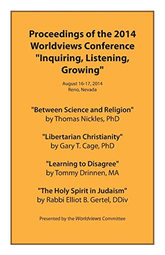 9781515243342: Proceedings of the 2014 Worldviews Conference