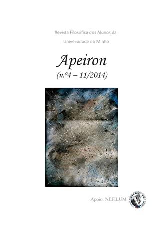 APEIRON - Revista Filosófica dos Alunos da: Steven S Gouveia