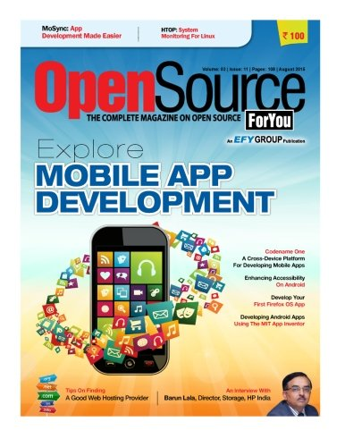 9781515248125: Open Source For You, August 2015: August 2015 (Volume 3)
