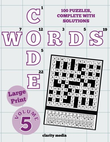 Large Print Code Words Volume 5: Clarity Media